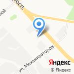 Автодек на карте Ярославля