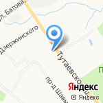 Поликлиника №5 на карте Ярославля