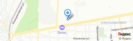 Домашний на карте Ростова-на-Дону