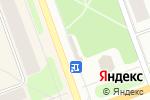 Схема проезда до компании Крендель в Северодвинске