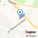 Сокол на карте Ярославля