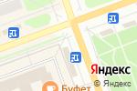 Схема проезда до компании Ням-Ням в Северодвинске