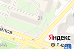 Схема проезда до компании NailS в Рязани