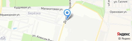 Лебединский на карте Ростова-на-Дону