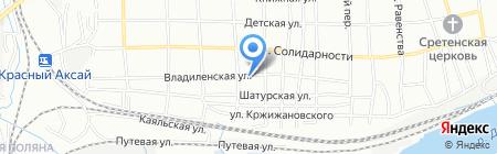 Агробизнес-Союз на карте Ростова-на-Дону