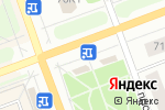 Схема проезда до компании МТС в Северодвинске