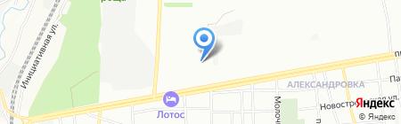 Комильфо на карте Ростова-на-Дону