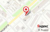 Схема проезда до компании OSCAR в Ярославле