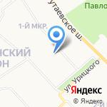 Тополёк на карте Ярославля