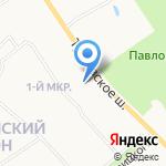 Библиотека №13 на карте Ярославля