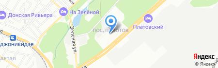 Детский сад №9 Топольки на карте Ростова-на-Дону