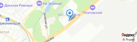 Сервис-Кровля на карте Ростова-на-Дону