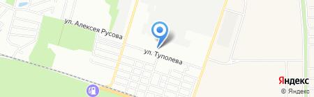 Продуктовый магазин на ул. Туполева на карте Ростова-на-Дону