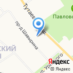 Гипроприбор строй на карте Ярославля