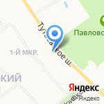 Столовая №37 на карте Ярославля