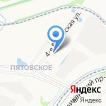 Старое Пятовское на карте Ярославля