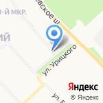 Скорая медицинская помощь на карте Ярославля