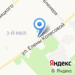 Новая заря на карте Ярославля