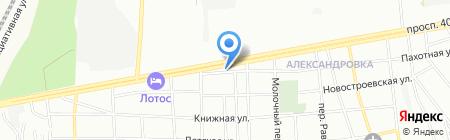 Ворота 161 на карте Ростова-на-Дону