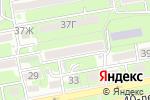 Схема проезда до компании Евро-Климат в Ростове-на-Дону