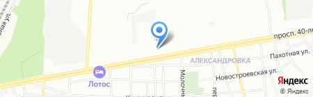 Детский сад №257 на карте Ростова-на-Дону