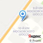 Автомобилия на карте Ярославля