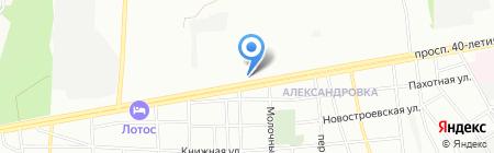 Орбита на карте Ростова-на-Дону