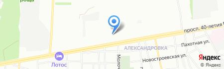 Детский сад №209 на карте Ростова-на-Дону