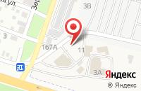 Схема проезда до компании СантехУют в Янтарном