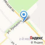 Почтовое отделение №42 на карте Ярославля