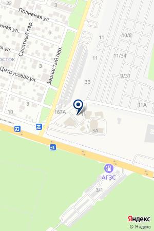 Магазин магнитов на Промышленной на карте Ростова-на-Дону