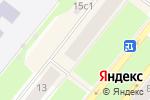 Схема проезда до компании Банкомат, Банк ВТБ 24, ПАО в Северодвинске