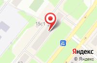 Схема проезда до компании Компания «Орион» в Северодвинске