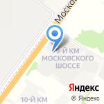 МЕГАСТРОЙ на карте Ярославля