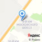 Hyundai на карте Ярославля