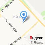 Средняя общеобразовательная школа №81 на карте Ярославля