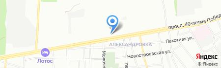 БиржаМедУслуг на карте Ростова-на-Дону