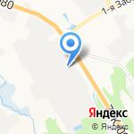 Ярославский бетон на карте Ярославля