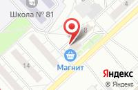 Схема проезда до компании Cherry-club в Ярославле