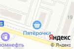 Схема проезда до компании Пятёрочка в Дядьково