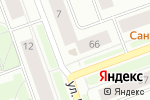 Схема проезда до компании Тепличное в Северодвинске