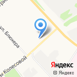 Магазин продуктов на карте Ярославля