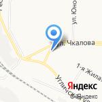 На кольце на карте Ярославля