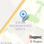 Русский лес на карте Ярославля