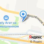 Студия+12 на карте Ярославля