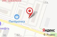 Схема проезда до компании Шереметьевский квартал в Дядьково