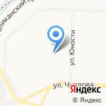 Журавленок на карте Ярославля