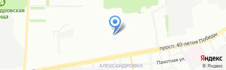 Магнит на карте Ростова-на-Дону