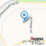 Средняя общеобразовательная школа №76 на карте Ярославля