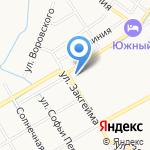 Домашняя на карте Ярославля